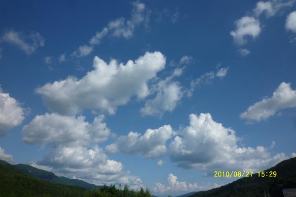 8月27日(金)PM3:29 気温31℃
