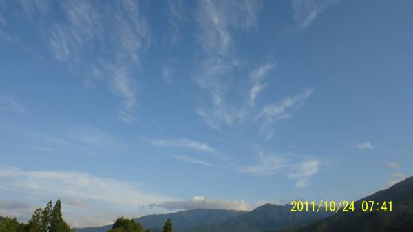 ずっと近寄せると雲が面白い!!